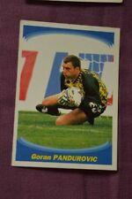 VIGNETTE PANINI SUPERFOOT FOOTBALL 1997 98 // N°25 GORAN PANDUROVIC