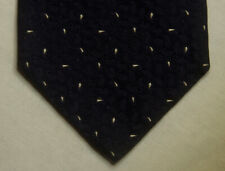 "Luciano Barbera Midnight Blue Woven Luxury Silk Tie. Italy. 3 3/4"" x 60"". $155"