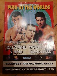 Joe Calzaghe Vs Robin Reid (Boxing Programme 13/02/99)