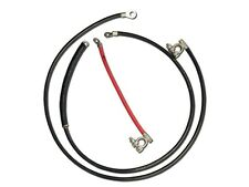 1967-1970 Ford Mustang - Heavy Duty Battery Cable Set - 4g