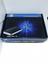 CiT 2.5 USB 2.0 External HDD Enclosure With USB 2 Cable, CD,Bag And Box