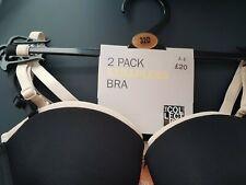 BNWT 2PK STRAPLESS BRA'S by DEBENHAMS. SIZE 32D. RRP £20.00 IDEAL FOR XMAS