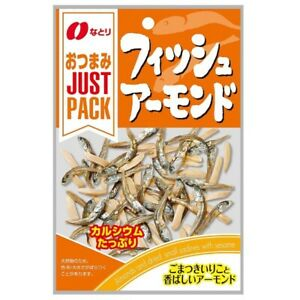Natori Fish and Almond 19g japanese snack from Japan
