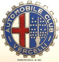 Automobile Club di Vercelli distintivo Associazione Automobilistica