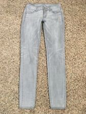 AMERICAN EAGLE Gray Jegging JEANS - Size: 0 - 5941022559 - 091
