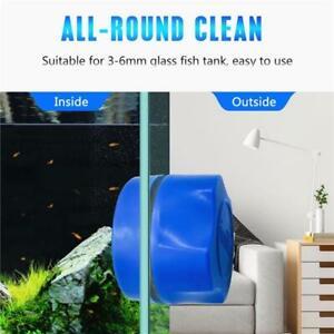 Mini Magnetic Brush Cleaning Glass Algae Aquarium Magnet Fish Tank Cleaner  AUS
