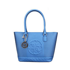 ..GUESS.. KORRY CLASSIC TOTE VP617222 BLUE- INCREDIBLY CHICK!