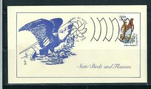 US SC # 1954 State Birds And Flowers ( Alaska ) FDC. Namake Cachet .