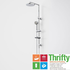 Caroma Urbane Multifunction Rail Shower with Overhead Chrome WELS