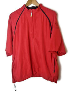 Trump National Golf Club Los Angeles Izod C-Protect Mens Size L Pullover Poncho