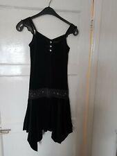 Girls Dress Age 10-11 From Made With Love Black Velvet