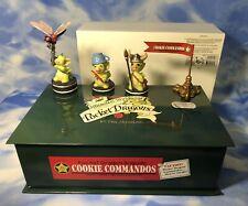 """Htf Pocket Dragons """"Cookie Commandos"""" Dragon Figurines Peep Dragonfly 013943 Nib"""