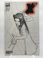 X-23 #2 Sketch Cover / Laura Kinney / Marvel Comics