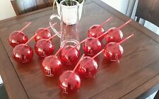 Grand Marnier 12 drinking vessels and Pitcher set new