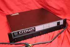 CROWN COM-TECH 400 Professional Stereo Power Amplifier