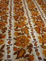 tissus coton des ans 30-50    1m,25    x0,90  rideau,coussin etc..teintes beiges