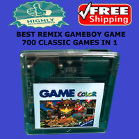 Nintendo Super Remix Game Color 700 Games In 1 Gameboy Cartridge Console EDGB 8G