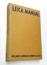 LEICA MANUAL (1951) Camera Equipment Film Darkroom Flash Photography