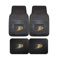 Anaheim Ducks NHL 2pc and 4pc Mat Sets - Heavy Duty-Cars, Trucks, SUVs