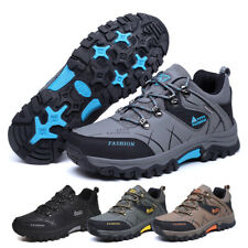 Mens Walking Hiking Trainers Trekking Boots Running Shoes Outdoor UK Size 12