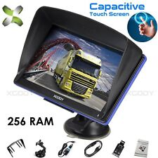 XGODY 7'' Touchscreen Car Truck GPS Navigation Sat Nav US Map Speedcam Free MAP