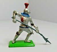 Britains Deetail foot soldier Knight Vintage Figures Toy Soldiers 1971 Version 5