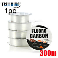 Invisible Wire Fishing Line Elastic Thread Spool FluoroCarbon Polyester Bait -