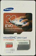 Micro SD Card 32GB Samsung Pro Evo Plus class 10 + SD Adapter   UK seller