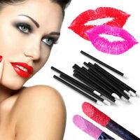 Beauty Disposable Lip Makeup Tools Brush Gloss Lipstick Wands Applicator Brushes