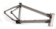 "S&M CCR MOD 20.75 GLOSS CLEAR FRAME BMX BIKE FIT M.O.D. CREDENCE RAW 20.75"" BTM"