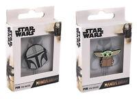 Star Wars The Mandalorian Pin Badges Baby Yoda The Mandalorian Official Product