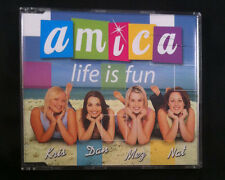 Amica - Life Is Fun - CD Single - Australia - 4 Tracks