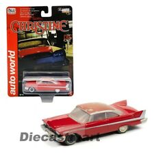 1958 Plymouth Fury Christine Partially Restored 1/64 Scale by Auto World AWSP039