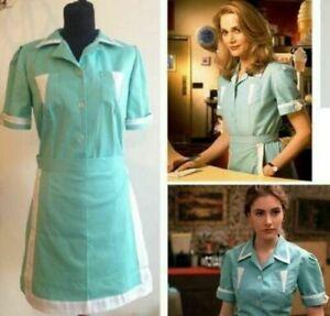 Twin Peaks costume Adult Maid dress custom made Waitress Cosplay costume