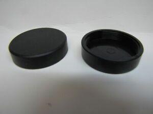 Telescope Visual Back Threaded Hard Plastic Screw-on Caps for ETX & SCT Scopes