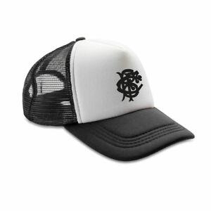 BARBARIANS rugby retro adjustable trucker cap [black/white]
