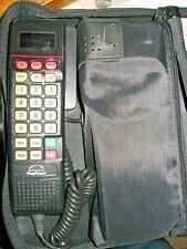 Motorola Airtouch Mega Phone Cell Phone Car Portable w/Case & Bell Atlantic Flip