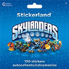 120 Skylanders Giants Swapforce Stickers Party Favors Teacher Supply Rewards