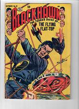 "BLACKHAWK #81 - Grade 5.0 - Golden Age ""The Sea Monters of Killer Shark!"""