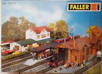Faller H0 190174  Bahnhof  Hochdorf Lokschuppen Bausatz NEU OVP versiegelt
