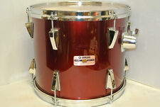 """1980's YAMAHA STAGE SERIES 13"""" RACK TOM in GARNET RED for YOUR DRUM SET! #K276"""