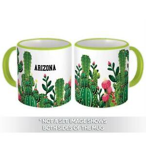 Gift Mug : Arizona Cactus Succulents Desert Souvenir USA Tourism Phoenix Tucson