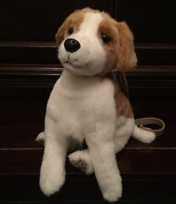 The Cutest Ever Fuzzy Nation 'Love on a leash' Jack Russell Puppy Purse Handbag
