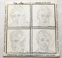 The Who - Filling In The Gaps 2 LP Set - Goldshower/Warner Brothers Promotional