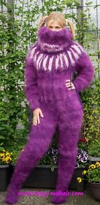 Kid Mohair thick sweater Catsuit Overall   Farbe, Größe nach Wahl by ORDER only
