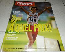 EQUIPE MAGAZINE N°622 1994 CHINE TENNIS BECKER DE KERSAUSON PAPIN JPP TIRIAC