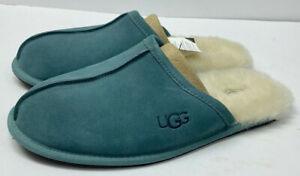 UGG MENS Scuff color Blue Gray Suede / size 9 / NEW WITH BOX!!