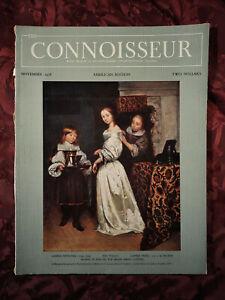 CONNOISSEUR magazine November 1958 Gaspar Netscher