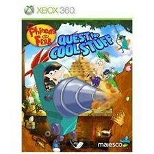 Phineas and Ferb: Quest for Cool Stuff New Microsoft Xbox 360, 2013 Disney ESRB