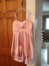 Girls Fancy Party Dress pink Size 13